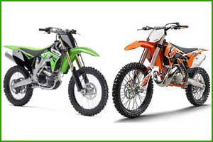 Two Stroke vs  Four Stroke Dirt Bikes